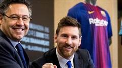 Chủ tịch Barca tự tin Messi sẽ ở lại