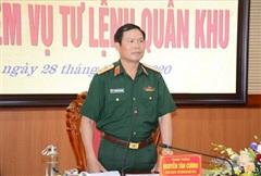Hội nghị bàn giao nhiệm vụ Tư lệnh Quân khu 3