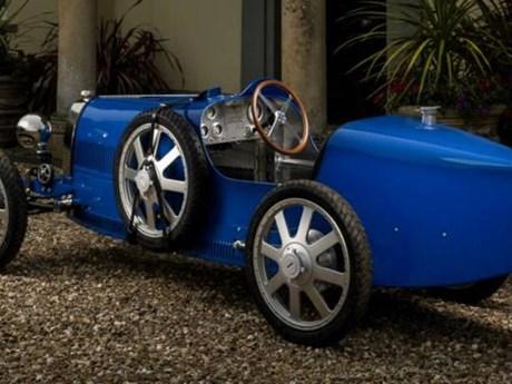 Xe hơi đồ chơi dành cho giới siêu giàu – Bugatti Baby II