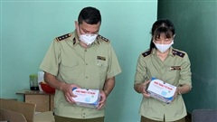 Đà Nẵng: Phát hiện 21.000 chiếc khẩu trang không có hóa đơn chứng từ, không rõ nguồn gốc xuất xứ