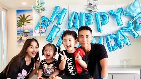 Vợ chồng Khánh Thi làm sinh nhật hoành tráng cho con trai ở resort 5 sao