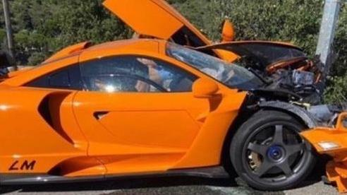 Tay đua F1 kỳ cựu từng lái các siêu phẩm nhưng gặp nạn phá tan McLaren Senna LM còn chưa ra mắt