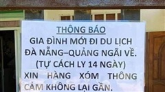 Chuyện gia đình ở Vũng Tàu dán thông báo sau khi đi du lịch Đà Nẵng được chia sẻ mạnh