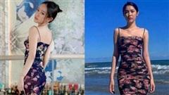 Thúy Vi và Quỳnh Hương mặc cùng một chiếc váy, body nóng rực khó phân định ai hot hơn ai