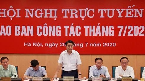 Chủ tịch Hà Nội: Triển khai ngay các biện pháp phòng chống dịch như giai đoạn trước