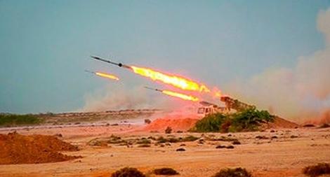 Iran gây 'sốc' khi bắn tên lửa đạn đạo từ dưới lòng đất