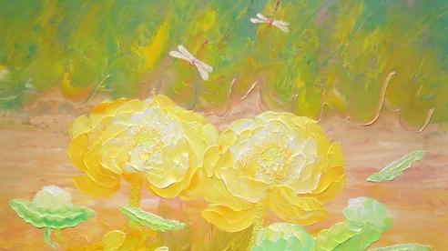 Ngắm hoa sen cùng họa sĩ Vũ Tuyên để an tâm giữa mùa COVID-19