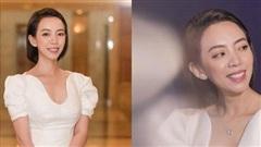 Vắng ông xã Tiến Luật, Thu Trang diện váy trắng nền nã sánh đôi bên Thái Hòa