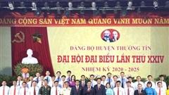 Đồng chí NguyễnTiến Minh tiếptục được bầu làmBí thư Huyện ủy ThườngTín