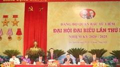 Đại hội đại biểu Đảng bộ quận Bắc Từ Liêm tiến hành phiên trù bị