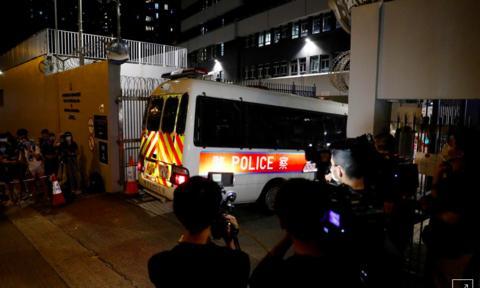 Hong Kong bắt giữ 4 người vi phạm luật an ninh mới