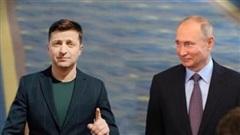 Điện đàm Putin-Zelenskiy vô hiệu luật tái hòa nhập Donbass