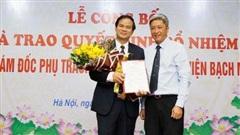 Tân Phó Giám đốc Bệnh viện Bạch Mai vừa được bổ nhiệm là ai?
