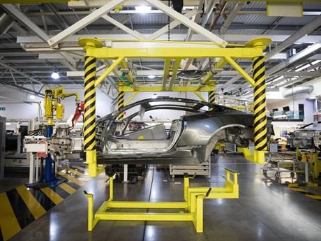 Sản lượng ôtô của Anh giảm xuống mức thấp nhất kể từ năm 1954