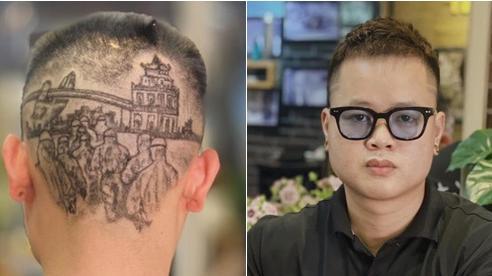 Chàng trai cắt tóc tạo hình nhân viên y tế ở Đà Nẵng để cổ vũ chống dịch Covid-19