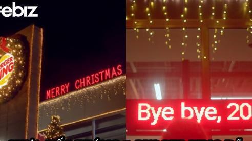 'Quá mệt' với 2020, Burger King tung chiến dịch marketing ăn mừng Giáng Sinh từ tận tháng 7