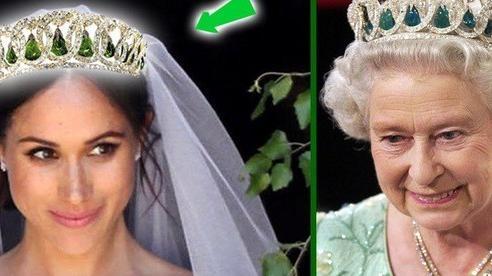 Sách mới về nhà Sussex tiết lộ sự thật đằng sau tranh cãi giữa Meghan với Nữ hoàng về chiếc vương miện 'không được phép dùng trong hôn lễ hoàng gia'