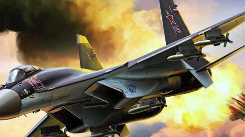 Su-35 Nga cứng cựa: 'Tử thần trên không' mang đến cơn ác mộng tồi tệ nhất lúc nửa đêm!