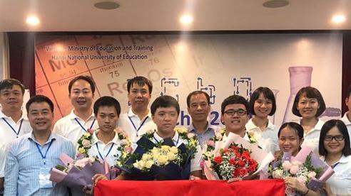 Việt Nam đạt thành tích kỷ lục tại Olympic Hóa học quốc tế 2020
