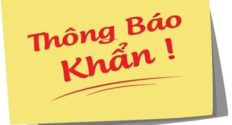 Thông báo khẩn tìm khách hàng đến cửa hàng Mắt Việt của Aeon Mall Bình Tân