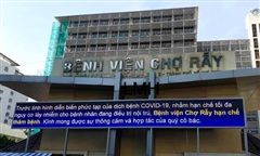 208 nhân viên y tế BV Chợ Rẫy được lấy mẫu xét nghiệm COVID-19