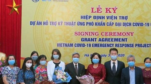 WB viện trợ Việt Nam hơn 6,2 triệu USD để xét nghiệm Covid-19