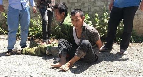 Hai đối tượng vận chuyển ma túy chống trả cảnh sát để tẩu thoát