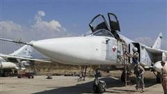 Su-24 siêu chính xác sắp trút đòn thù vào phiến quân