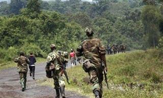 Lính Congo say xỉn, xả súng bắn chết ít nhất 13 người