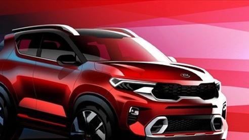 Lộ thiết kế mẫu SUV mới Kia Sonet 2021