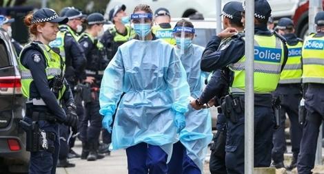 Australia ban bố tình trạng thảm họa bang Victoria vì COVID-19