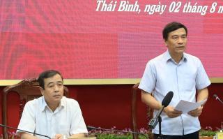 Hủy chuyến 'công tác' giữa dịch Covid-19, Bí thư, Chủ tịch Thái Bình về chủ trì họp khẩn