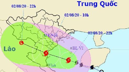 Tin bão mới nhất: Bão số 2 suy yếu thành áp thấp nhiệt đới; Cảnh báo mưa to ở các tỉnh Thanh Hoá, Nghệ An