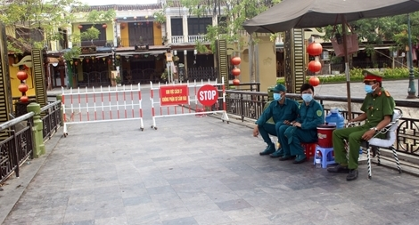 Quảng Nam phong tỏa khu dân cư có nguy cơ lay nhiễm cao