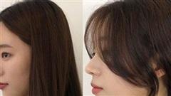 Để kiểu tóc mái cong chữ S thì mặt nào cũng được 'nịnh', 'biến hình' xinh lên trông thấy