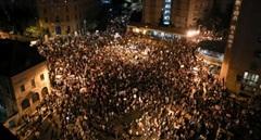 Biển người Israel xuống đường biểu tình phản đối thủ tướng