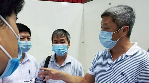 Thứ trưởng Bộ Y tế xin Thủ tướng ở Đà Nẵng đến khi hết dịch Covid-19 mới về