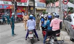TP.Biên Hoà: Phong tỏa đoạn đường Hồ Văn Đại phòng chống Covid-19