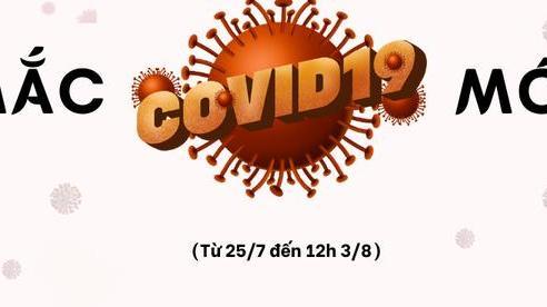 [Infographic] - Tỉnh, thành nào đang có ca mắc COVID-19 trong đợt dịch mới?