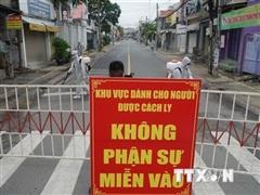Đồng Nai tiến hành phong tỏa đường Hồ Văn Đại, cách ly 200 hộ dân