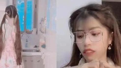 Quên tắt app làm đẹp, hot girl Trung Quốc lộ hàm răng 'vêu vao', mặt mũi 'ghồ ghề' khiến fan khiếp vía