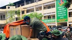 Tuổi trẻ Thủ đô hỗ trợ nhân dân và thanh, thiếu nhi thành phố Đà Nẵng