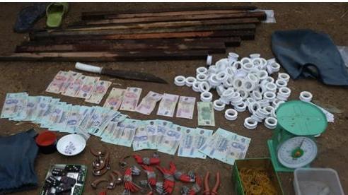 Triệt phá sới bạc 'khủng', bắt giữ 150 đối tượng ở An Giang