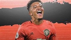 MU đồng ý trả Dortmund 109 triệu bảng cho Jadon Sancho