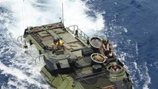 Thiết giáp Mỹ chìm trên biển, 9 người tử nạn
