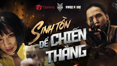 Garena Free Fire tung teaser MV bài hát Sinh Tồn Để Chiến Thắng cực chất, 2 nhân vật chính ngầu khỏi bàn