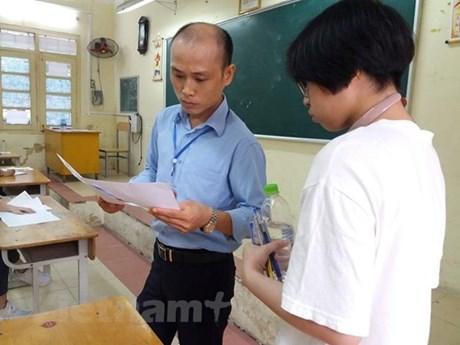 Điều chỉnh phân công nhiệm vụ coi thi với ba trường đại học Đà Nẵng