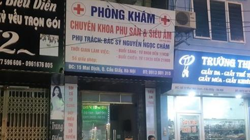 Hà Nội:Phong tỏa phòng khám phụ sản sau ca tử vong bất thường