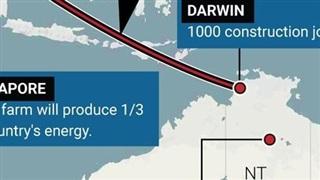 Dự án điện mặt trời lớn nhất thế giới qua tuyến cáp ngầm dưới biển