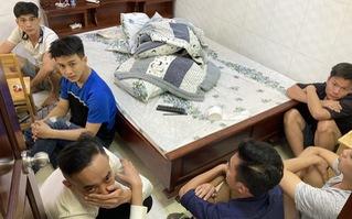 Phát hiện nhóm 'dân chơi' tổ chức phê ma túy tại nhà nghỉ ở Sài Gòn